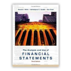 The Analysis and use of financial statements book